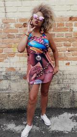 Vestido Afro Tamanho Único Veste Até 44 Super Promoçao Top