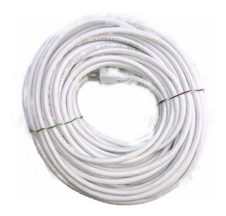 Cable Red 20 Metros Categoría Cat5 Utp Rj45 Ethernet Blanco