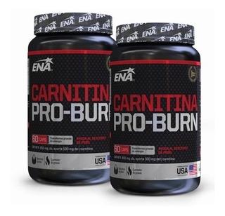 Carnitina Pro Burn X 2 Envases - Quemador - Reductor