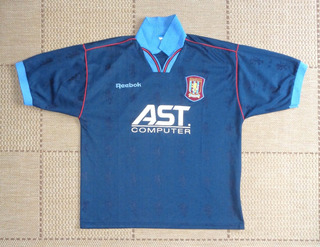Camisa Original Aston Villa 1995/1996 Away