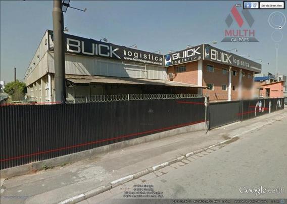 Galpão Industrial Para Locação, Jardim Belval, Barueri. - Ga0021