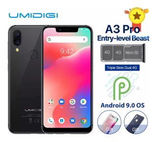 Umidigi A3 Pro 3gb Ram 32gb Tela 5.7 4g Android 9 + Digital
