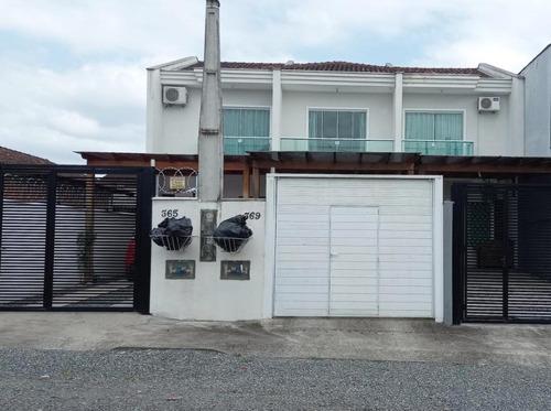 Imagem 1 de 28 de Sobrado Geminado No Nova Brasília Com 2 Quartos Para Venda, 80 M² - Kr197