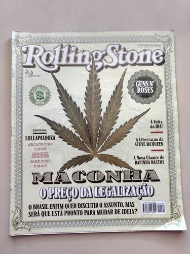 Revista Rolling Stone 90 Maconha Guns N Roses Lorde F656
