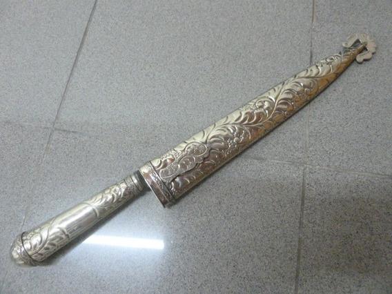 Cuchillo Juca Facon De Alpaca Hoja De 29cm