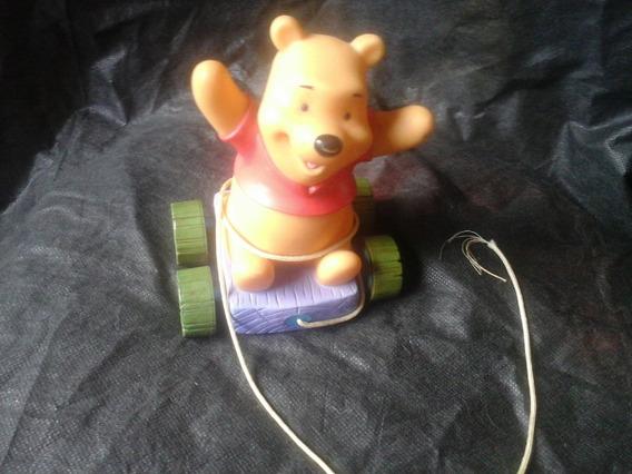 Ursinho Pooh No Carrinho De Puxar Disney