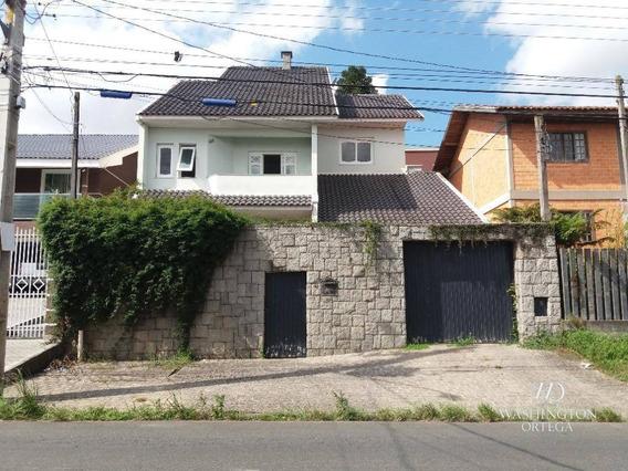 Sobrado Com 3 Dormitórios À Venda, 295 M² Por R$ 1.100.000,00 - Afonso Pena - São José Dos Pinhais/pr - So0178
