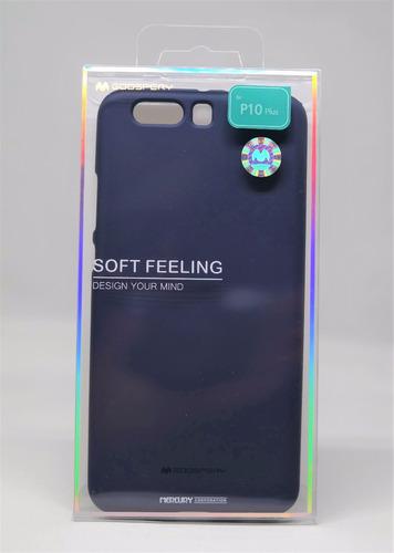 Imagen 1 de 3 de Funda Huawei P10 Plus  Mercury Goospery Soft Feeling Navy