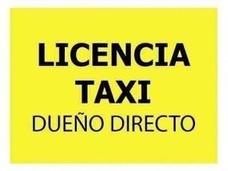Licencia Taxi Vendo Urgente