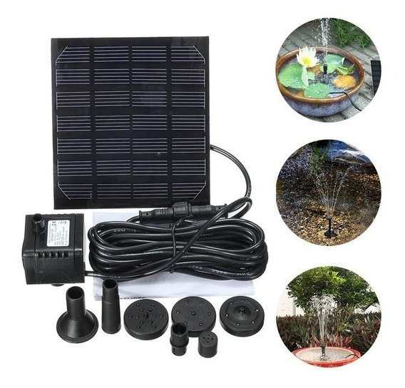 Bomba Solar Jardim Lagos Fonte 150l/h
