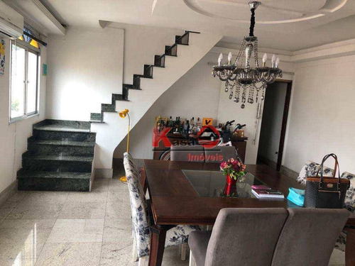 Cobertura Residencial À Venda, Campo Grande, Santos - . - Co0086