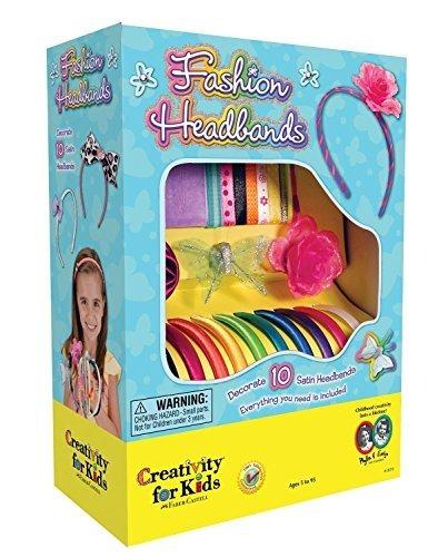 Juego De Artesanía Creativity For Kids Fashion Headbands, Ha