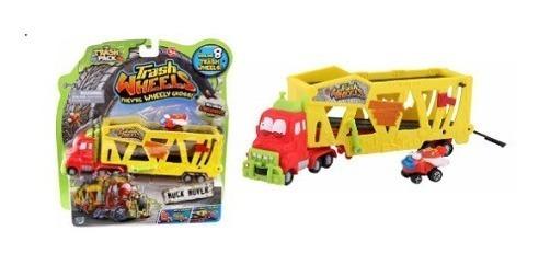 Camion Con Trailer Trash Wheels