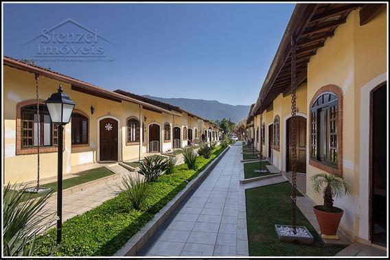 Casa Térrea A Venda Com 2 Quartos Em Village No Maitinga Em Bertioga. - Cc00130 - 34366790