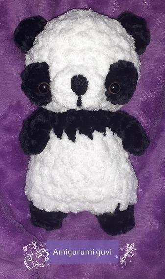 Ballgurumi-Panda: Free Crochet Pattern   Modelos de crochê ...   568x337