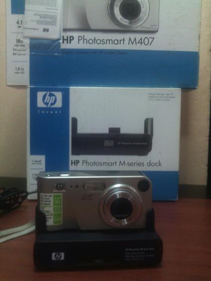 Camara Digital Hp M407 4.1mp 18xoptical Zoom Y M-series Dock