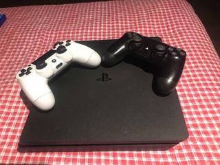Ps4 Slim Con 2 Controles Y 11 Juegos!!!