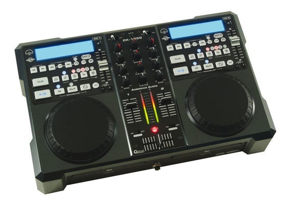 Mezclador Profesional Ck 1000 Mp3 Y Cd Player American Audio
