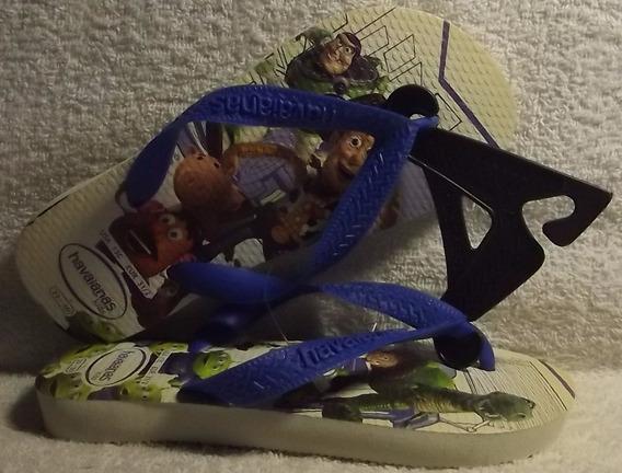 Havaianas Original: Kids Toy Story ( Infantil ) Nº29 / Nº30