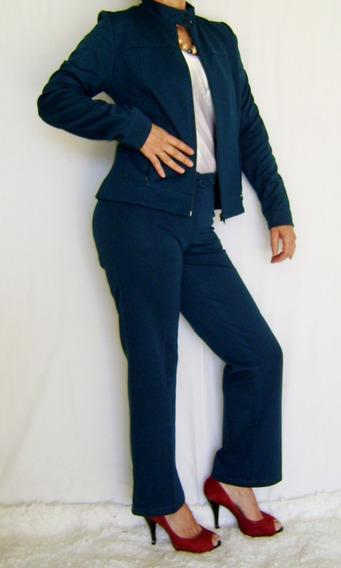 Conjunto De Calça E Blazer Feminino Usado