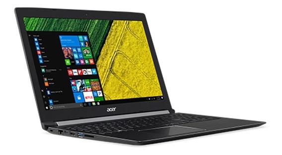 Notebook Acer 7th Geração Intel Core I3-7100u, 4gb Ddr4, 1tb