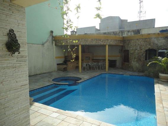 Sobrado Com 4 Dormitórios À Venda, 800 M² Por R$ 2.800.000 - Vila Pires - Santo André/sp - So0583