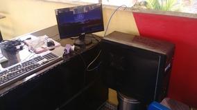 Computador Teclado, Mouse E Monitor De 14