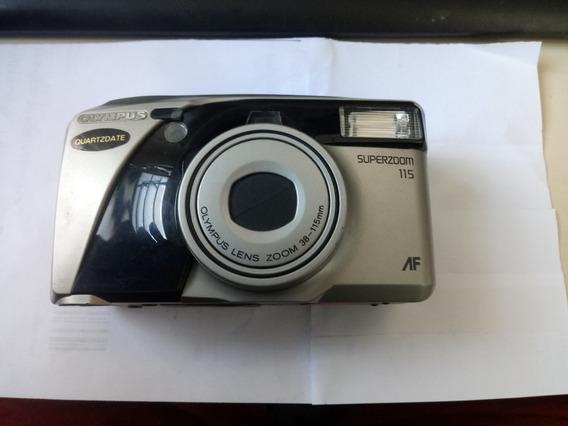 *câmera Olympus - Quartzdate - Superzoom 115 *