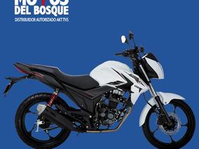 Llévate Tu Akt Cr 4 125 Blanco Sólo Con Tu Cédula!!!