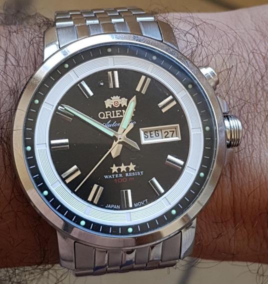 Relógio Orient Automático Masculino Clássico 469ss079 Preto