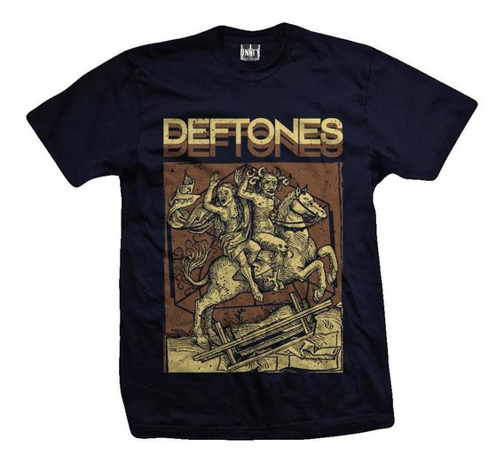 Remera Deftones Devil Ride