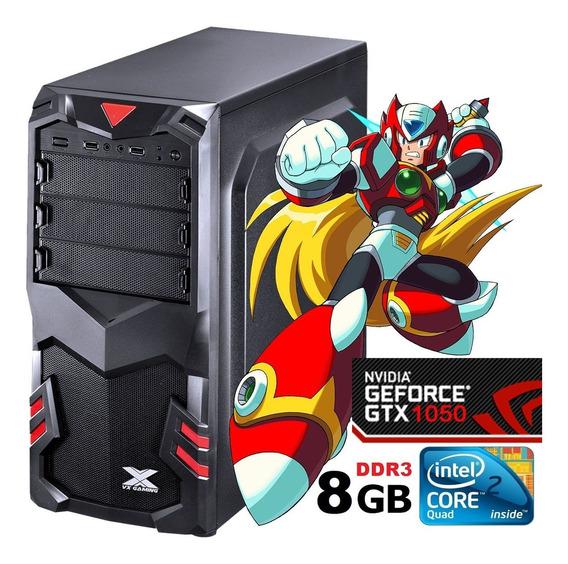Pc Gamer Black Barato Intel / 8gb - Ssd Gtx 1050 Desempenho