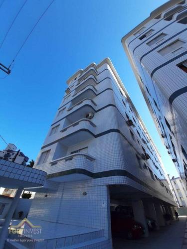 Imagem 1 de 13 de Apartamento Com 2 Dormitórios À Venda, 70 M² Por R$ 250.000,00 - Guilhermina - Praia Grande/sp - Ap2718