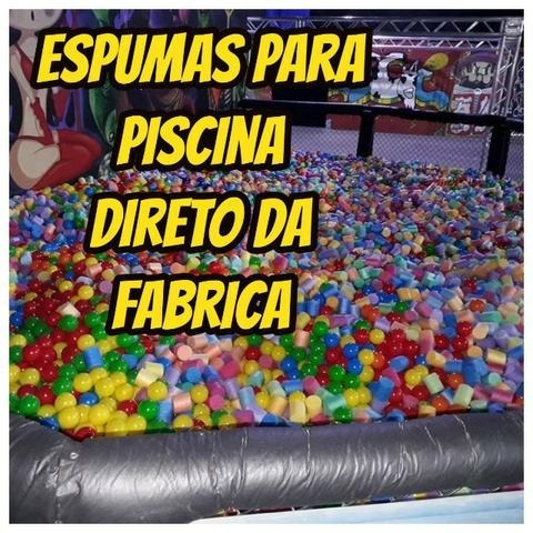 Kit Com 500 Espuma P/piscina De Bolinhas Direto Da Fabrica