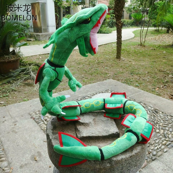 Pelucia Pokemon Rayquaza Dragon 80 Cm Anime