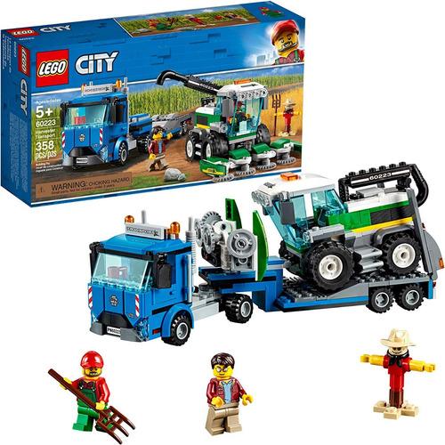 Lego City 60223 Kit De Const Para Transporte De Vehiculos