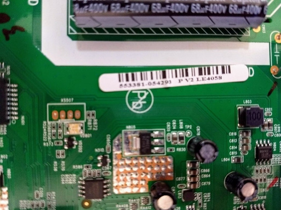Placa Principal Da Tv Semp Le4058(c)f