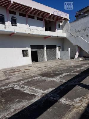 Galpão Comercial Para Locação, Campo Grande, Rio De Janeiro. - Ga0010