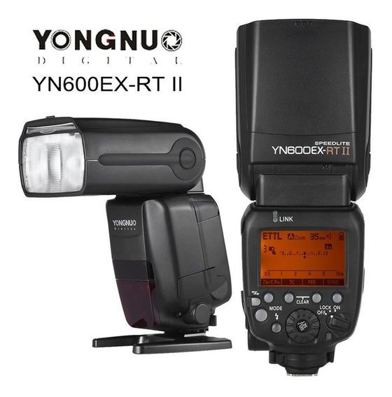 Flash Fotográfico Yongnuo Original Yn600ex-rt Ii Para Canon