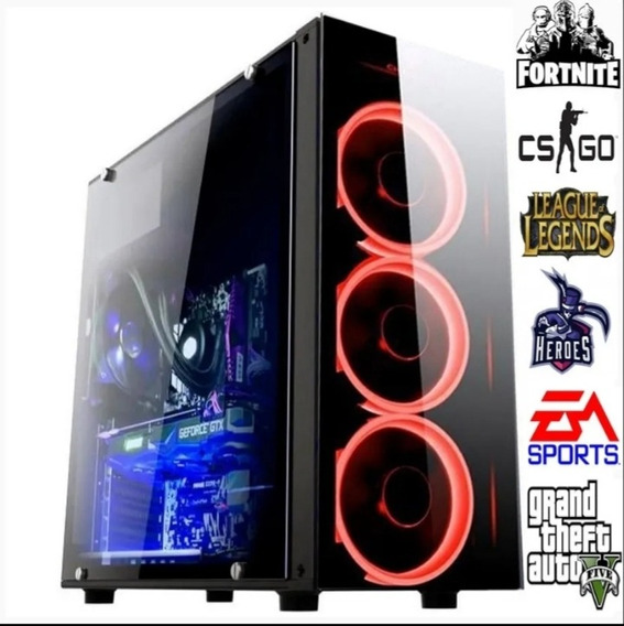 Pc Gamer Core I3 4gb Ram 500 Hd Novo**rgb Info***