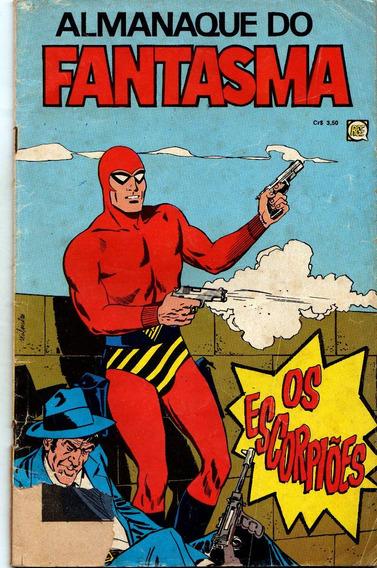 Fantasma Almanaque ,rge,1974 -antigo ! Raro ! Clássico,
