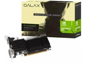 Placa De Vídeo Galax Gt 710 1gb Passive - Nova Na Caixa
