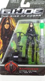Muñeco Gi Joe The Rise Of Cobra Hasbro Baroness