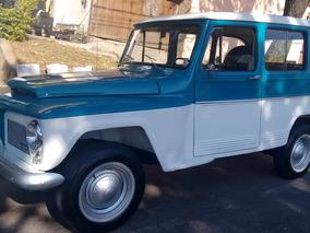 Rural Azul/branca 1976 Orig. 4cc 2300 Ohc Tração 4x2 Bhtemg