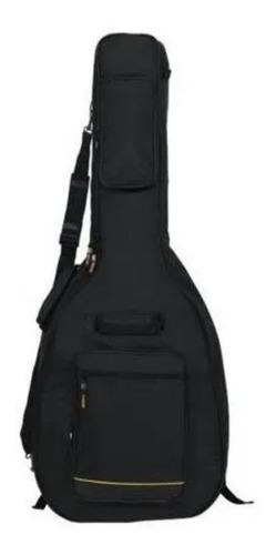 Capa Violão Acustico Rock Bag Rb 20509 B Deluxe Line Preto