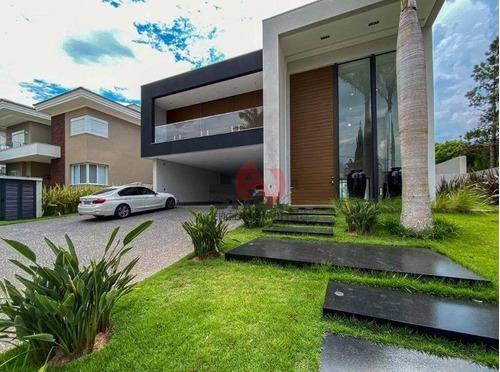 Tamboré 2 - Casa Com 6 Dormitórios (5 Suítes) À Venda, 900 M² - Alphaville - Santana De Parnaíba/sp - Ca6386