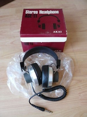 Stereo Headphone - Ase 11 - Akai Electric