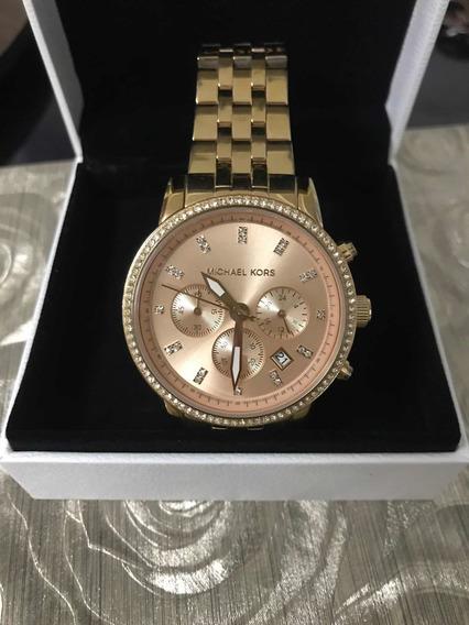 Relógio Mk Feminino Rosê