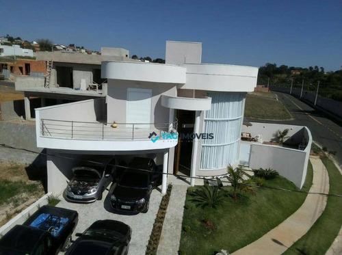 Casa Com 3 Dormitórios À Venda, 240 M² Por R$ 1.695.000 - Chácaras Alpina - Valinhos/sp - Ca0962