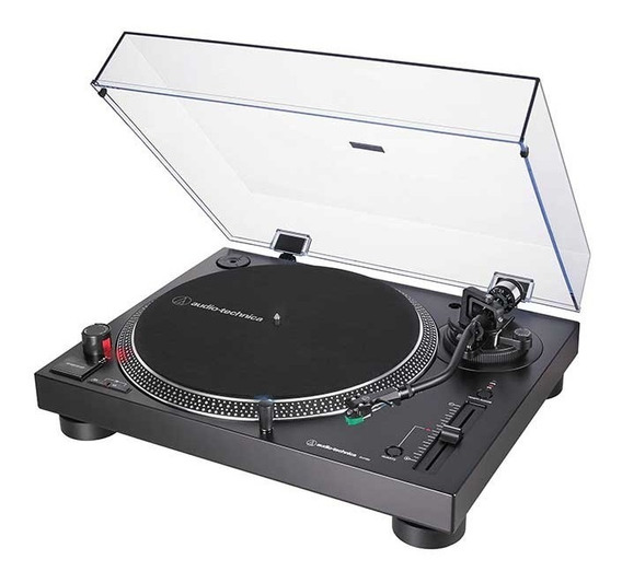 6m Garantia Toca Disco Audio Technica Lp120x Preta Lp 120